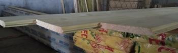Имитация бруса (хвоя) сорт АВ  (16мм х 135/141мм х 6000мм)