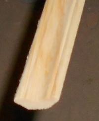 Плинтус потолочный 30мм (хвоя) сорт Экстра 2,5