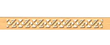 Наличник прорезной №3 80х20х2000м (хвоя) сорт Экстра