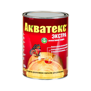 """""""Акватекс-ЭКСТРА"""" (Красное дерево 0,8 л)"""