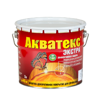 """""""Акватекс-ЭКСТРА""""  (Бесцветный 3 л) (91651)"""
