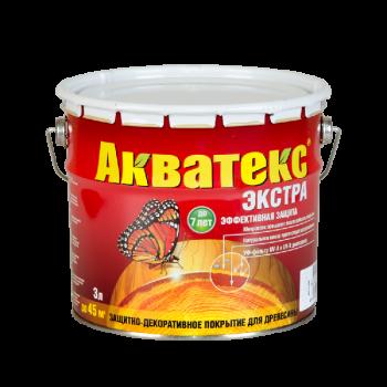 """""""Акватекс-ЭКСТРА""""  (Белый 3 л)  (91551)"""
