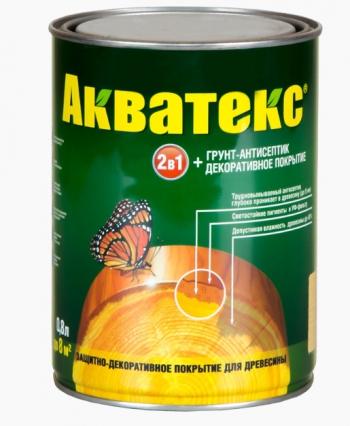 """""""Акватекс""""-текстурное покрытие (Бесцветный 0,8 л)"""