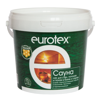 EUROTEX® Сауна 0,9кг